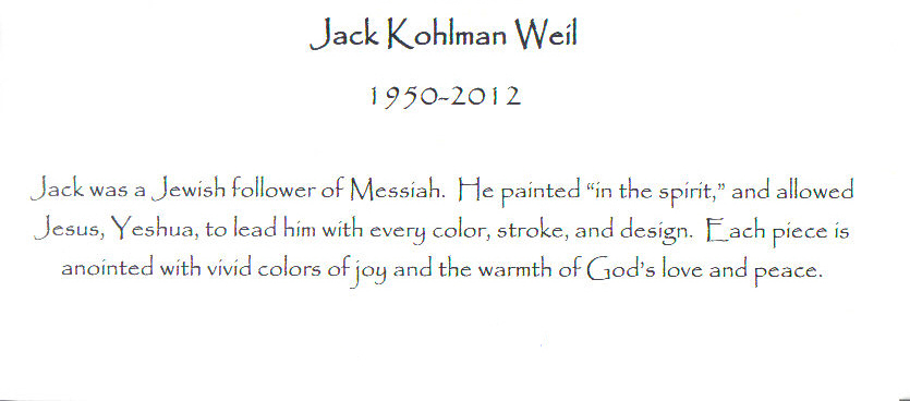 Bio of Jack Weil for Press Release July 2014