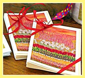 Flower Garden of Life and Love Note Cards TSP