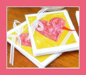 The Valentine Note Card TSP