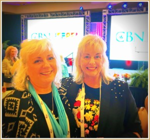 CBN Luncheon at NRB Jerri Lynn and Lucy framed
