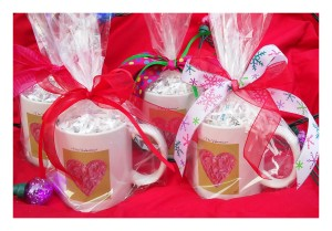 """The Valentine"" – Set of Four Coffee Cups"