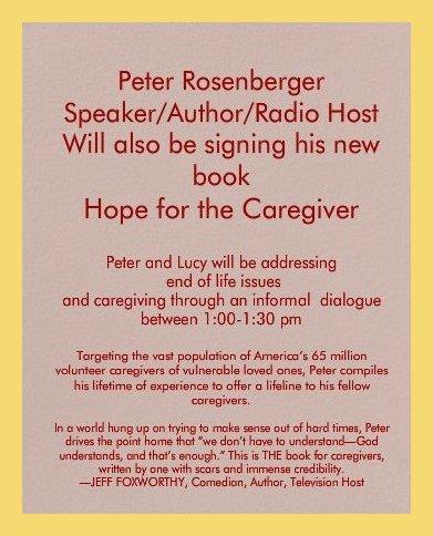 Incert for Invitation on Caregiving. framed  in low yellow jpg