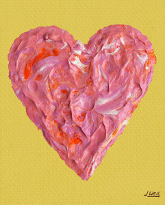 """The Valentine"" by Jack Weil -  Available in NEW coffee cups, canvas prints  & note cards"