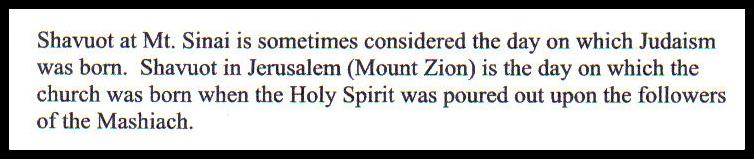 Shavuot - Hebrew for Christians 4 BLOG framed jpg