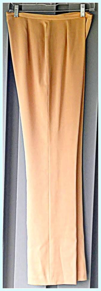 LAFAYETTE 148 Silk slacks with side zipper New York Size 8 $24