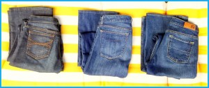 JUICY COUTURE - $30 each or $80 for al 3 pair 28/l GAP 1969 Curvy 29/8 L X2 W 3 Size 4 Long