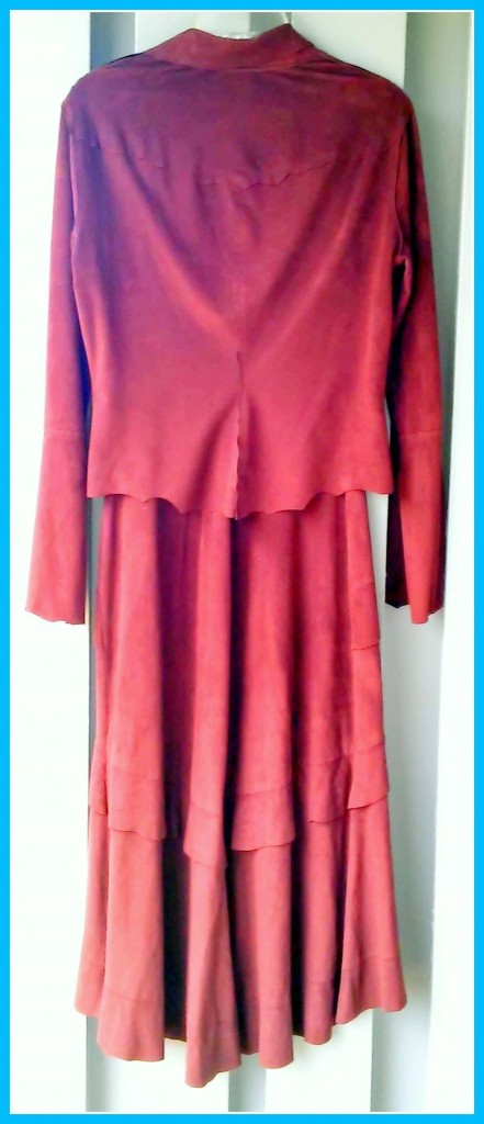 Suede dress and jacket BEBE Size small (4-6) $44