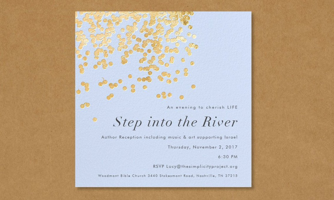 Step into the River enlarged